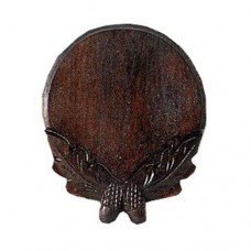 Boar Tusk Trophy Shield