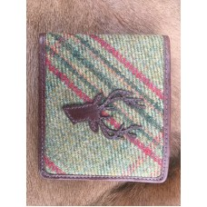 Quality Islay Tweed Leather Wallet